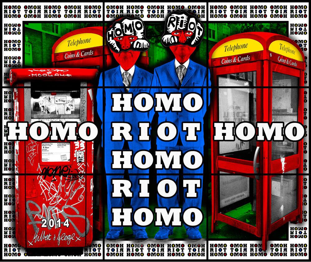 HOMO RIOT HOMO