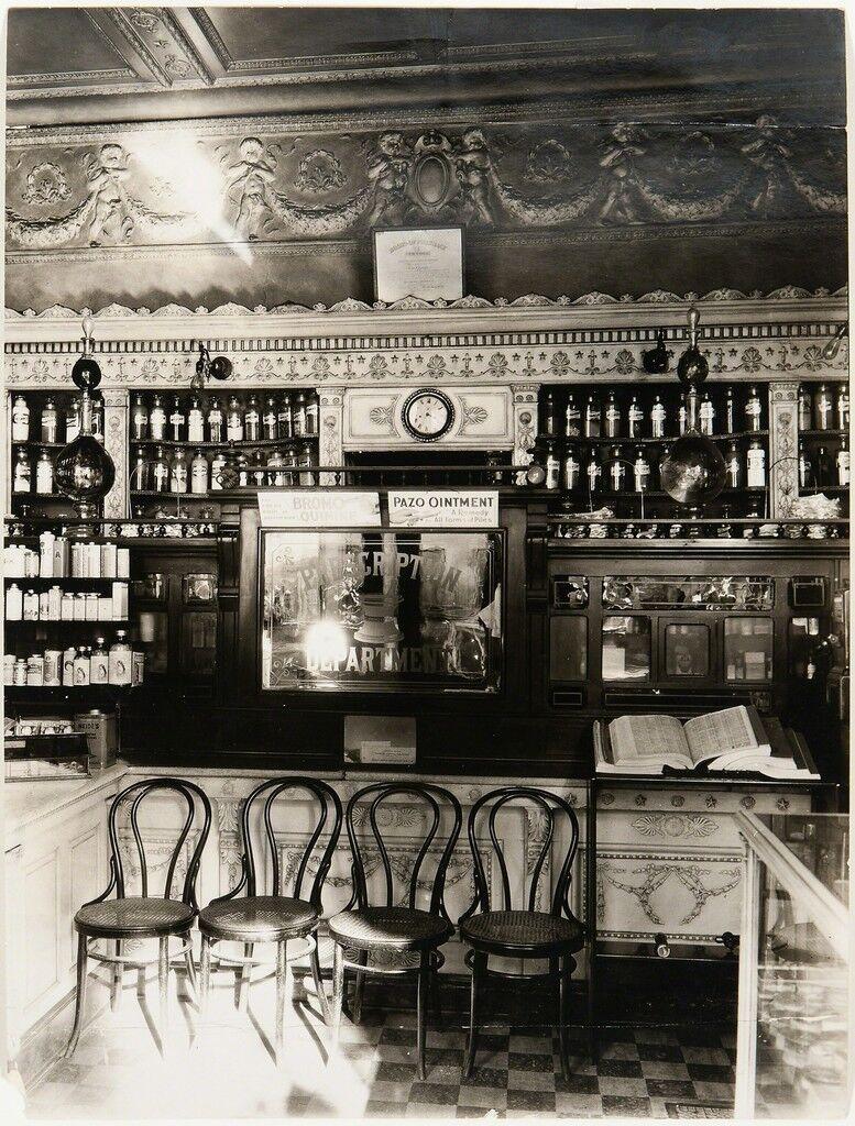 Pharmacy Interior, Paris