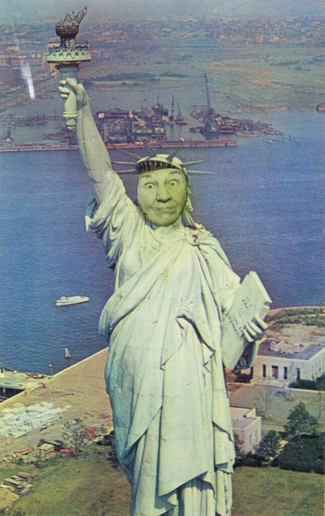 Ridiculous Portrait (Statue of Liberty)