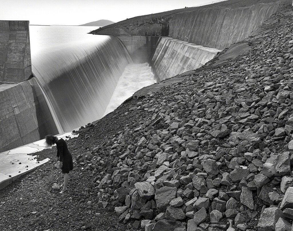 Self Portrait, Kárahnjúkar Dam, Iceland
