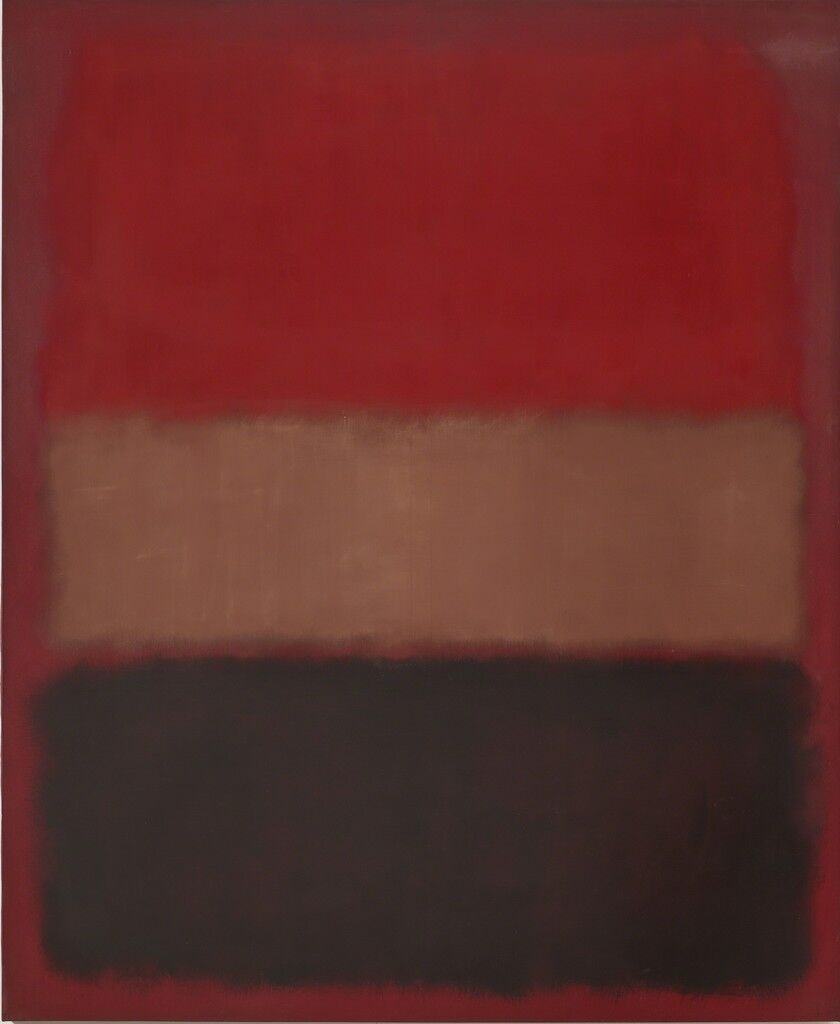 No. 46 (Black, Ochre, Red Over Red)