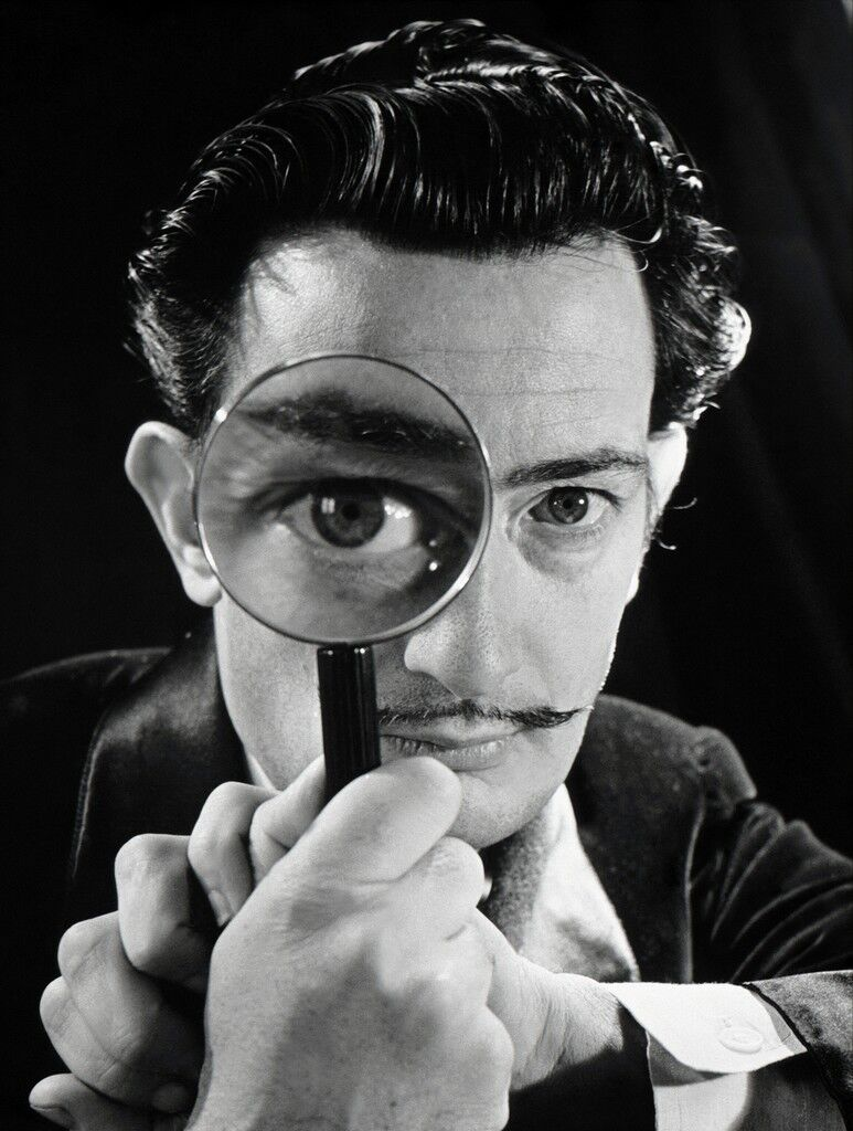 Spanish painter Salvador Dali