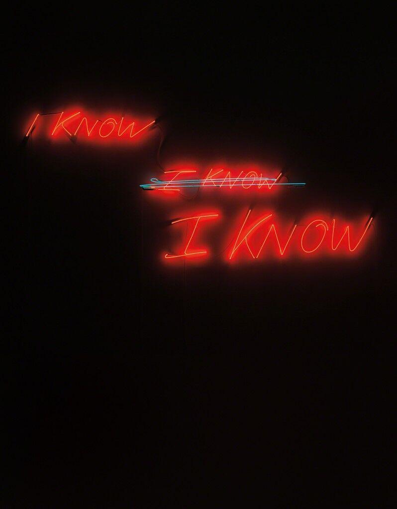 I know, I know, I know