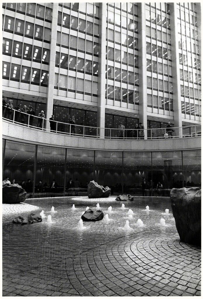 Sunken Garden for Chase Manhattan Plaza, New York