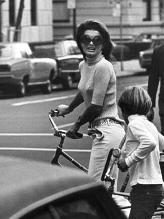Jackie Kennedy and John Kennedy, Jr., New York