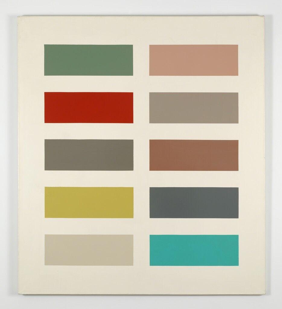 Zehn Farben