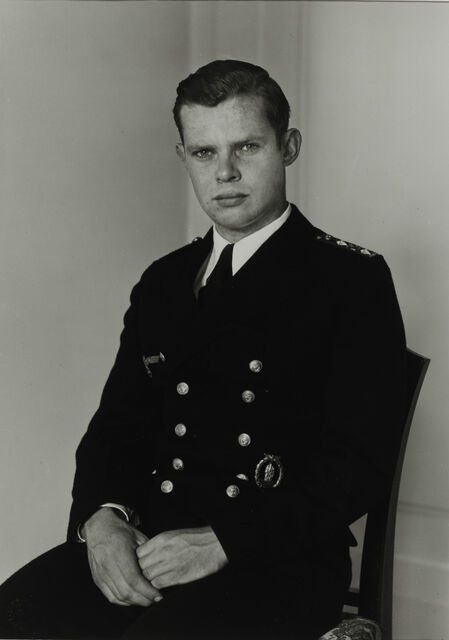 Naval Officer, c. 1944