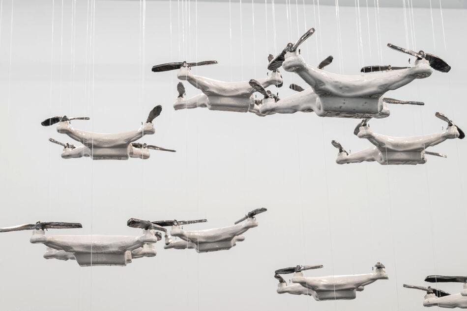 Ceramic Drone Swarm