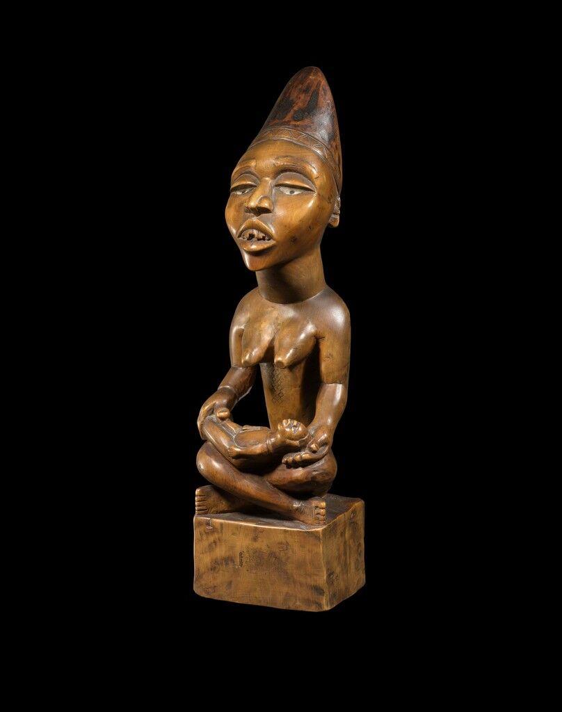 Yombe Maternity Figure (Phemba) Yombe - Democratic Republic of the Congo- Africa