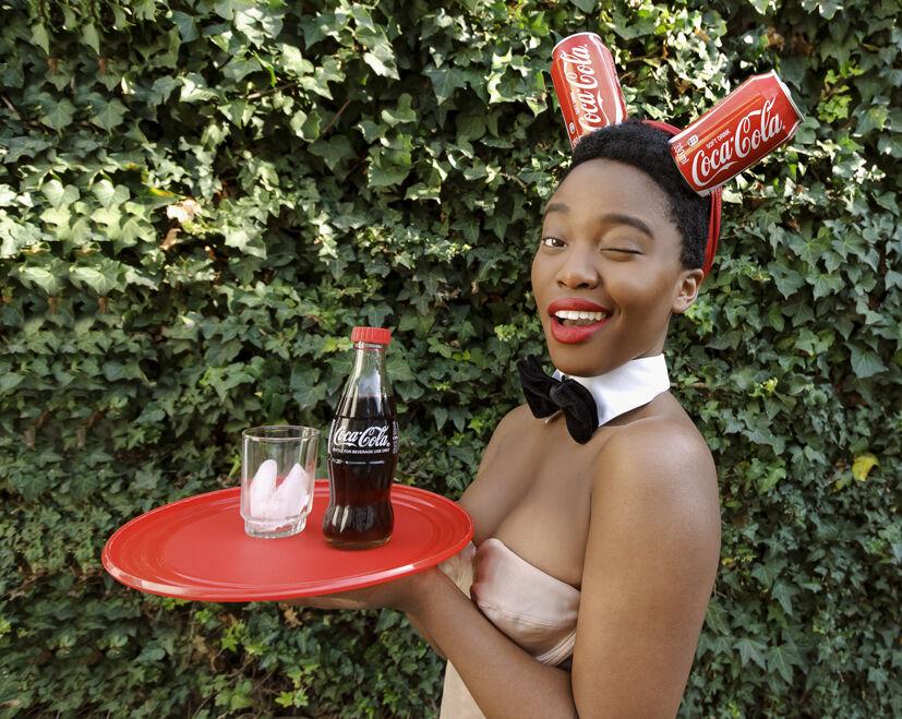 Black Coca Cola Series - Bunny Girl