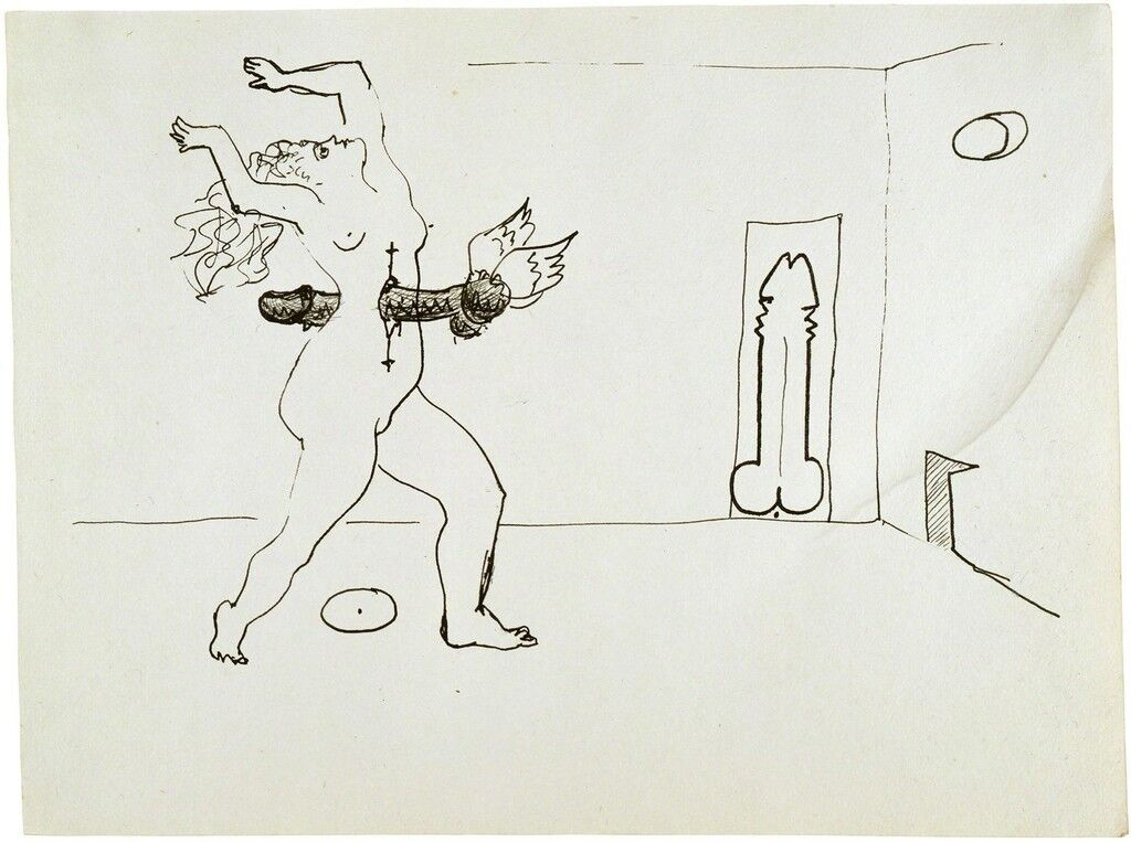 Untitled (Erotic Drawing)