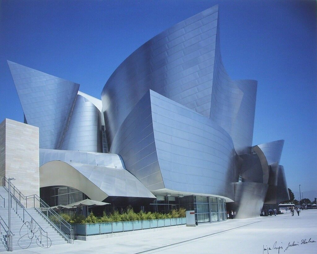 Disney Hall Photographs (Suite of 3 with Cloth Presentation Folio)