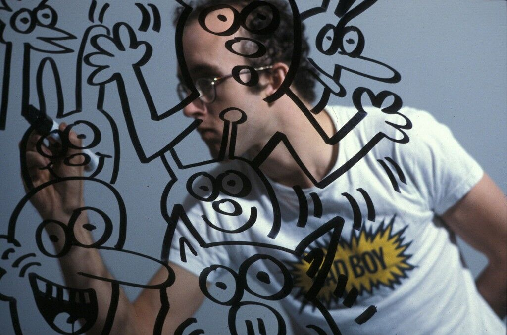 Keith Haring, Bad Boy, Bordeaux France