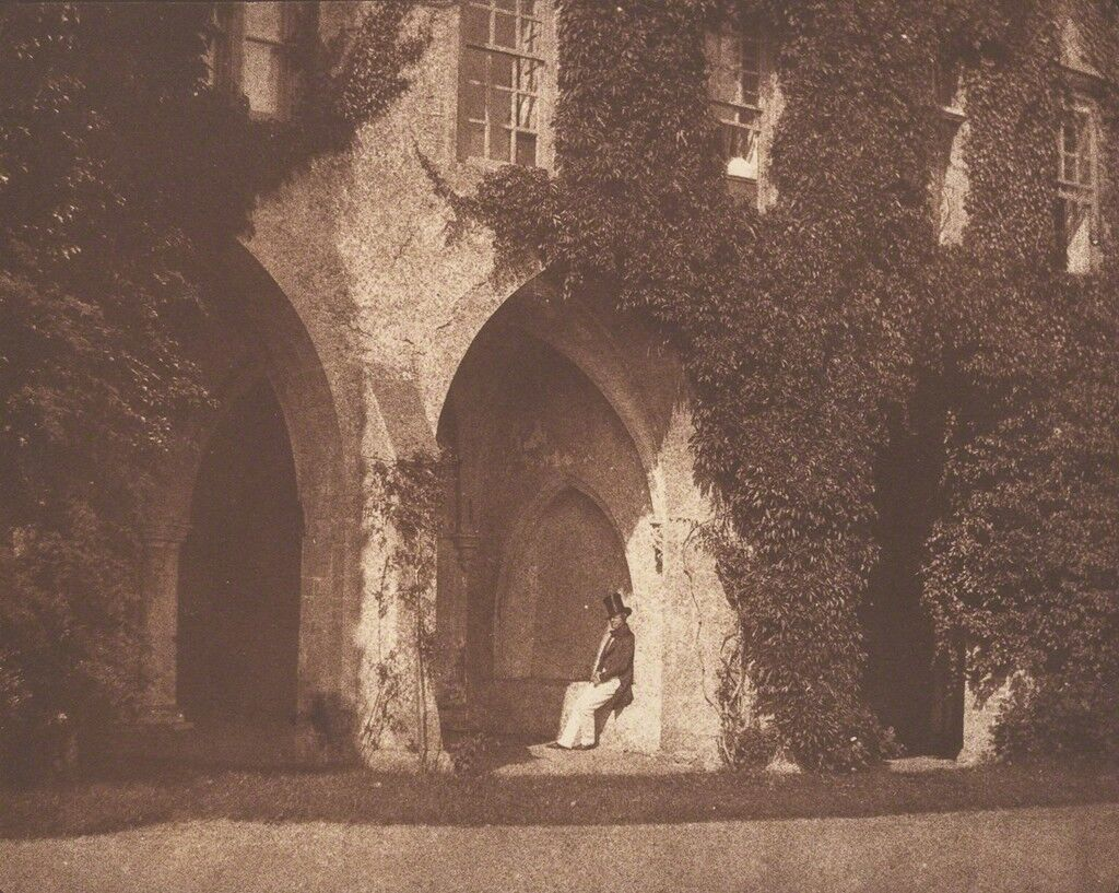 The Ancient Vestry, Calvert Jones in The Cloisters at Lacock Abbey