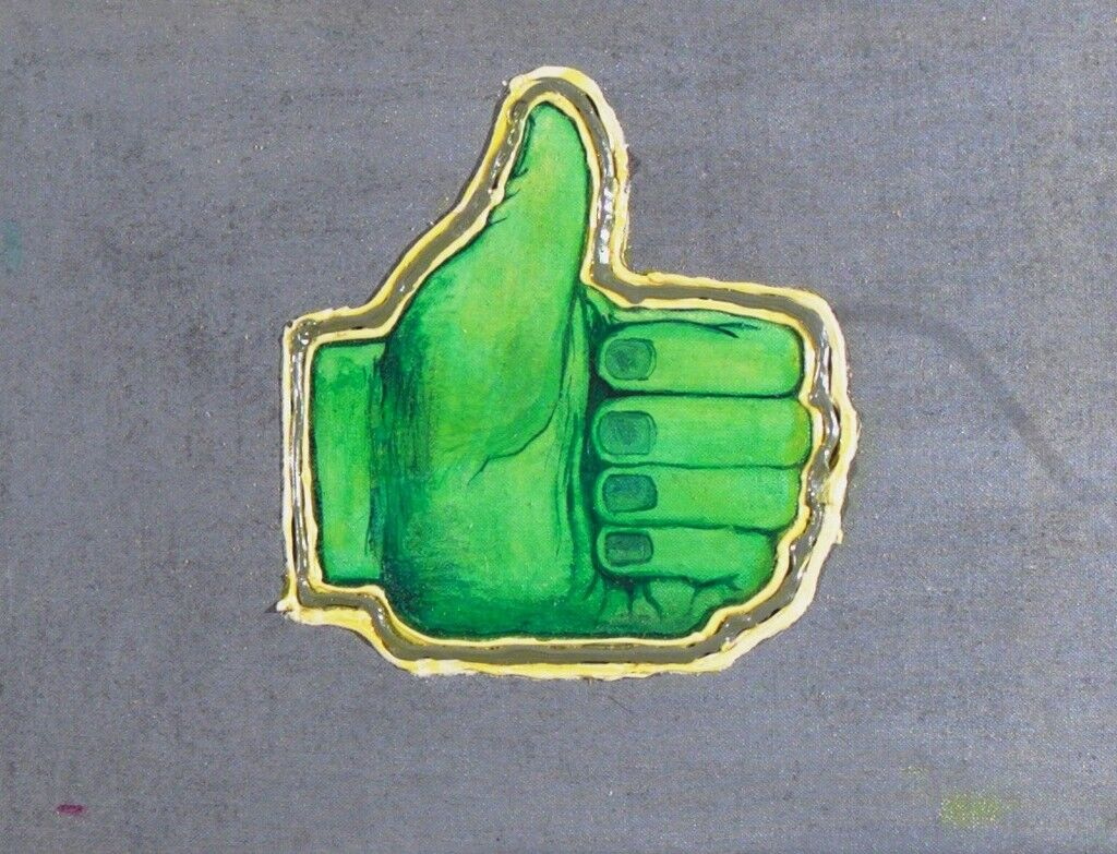 Thumbs Up For Rock 'n' Roll (Green)