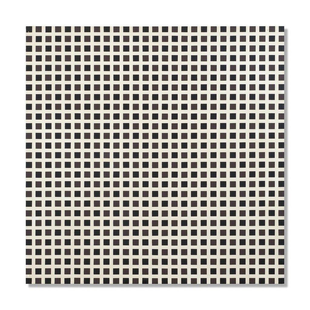 Répartition régulière de carrés
