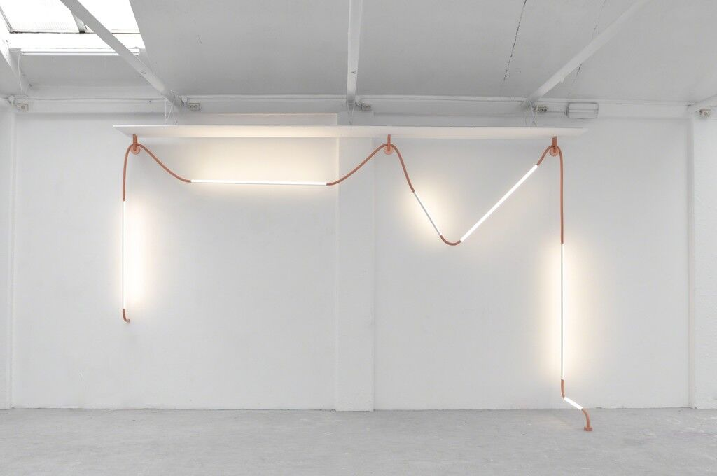 """Mono Light"" installation"