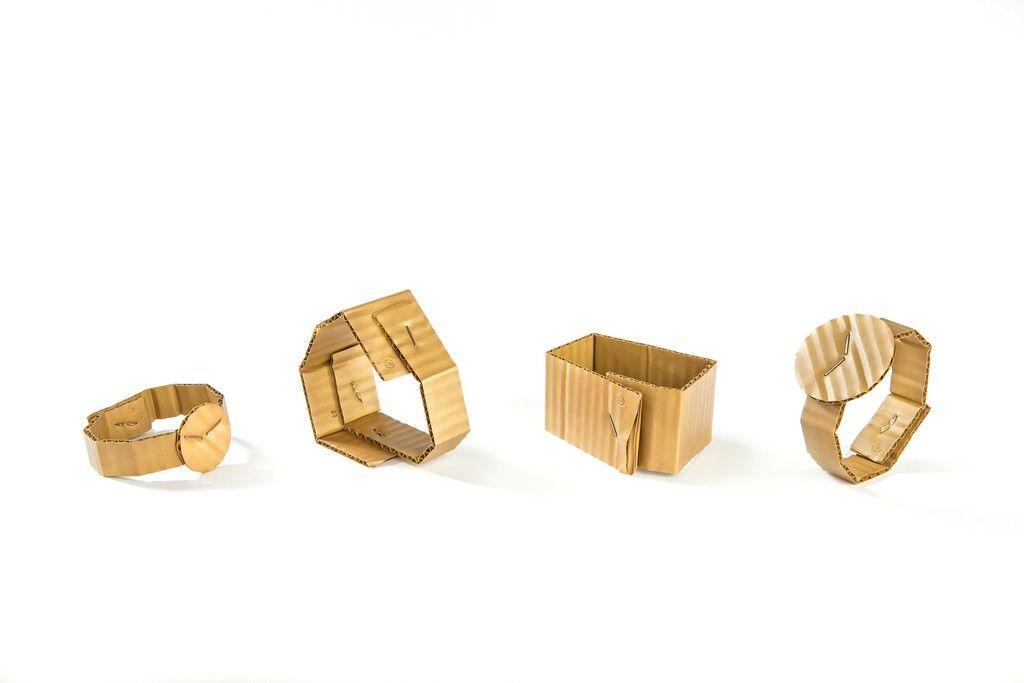 Cardboard bracelets