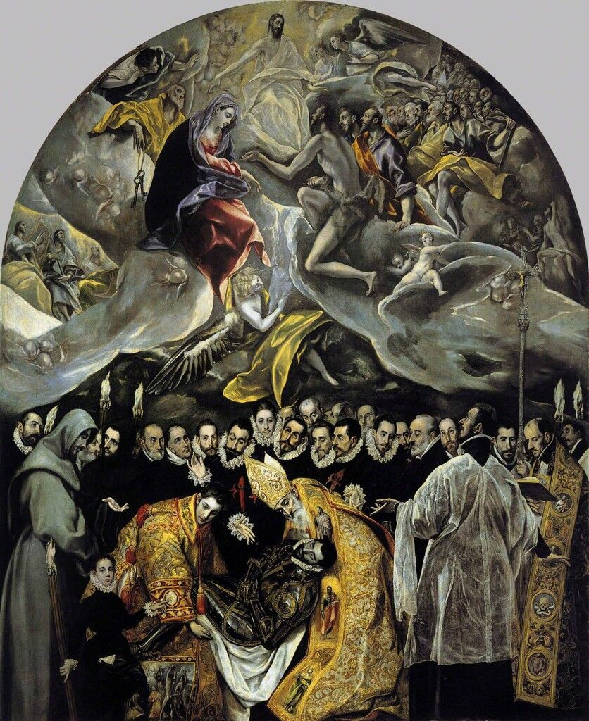 Burial of Count Orgaz
