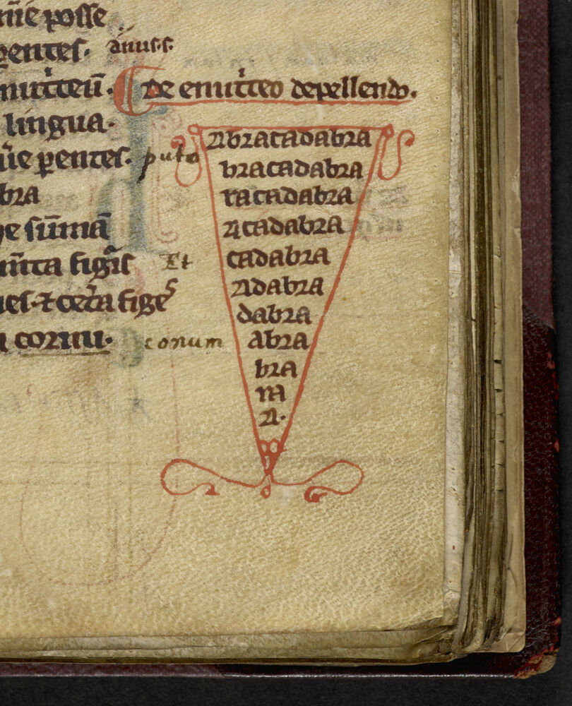 Liber Medicinalis, 13th century. ©British Library Board. Courtesy of New York Historical Society Museum & Library.