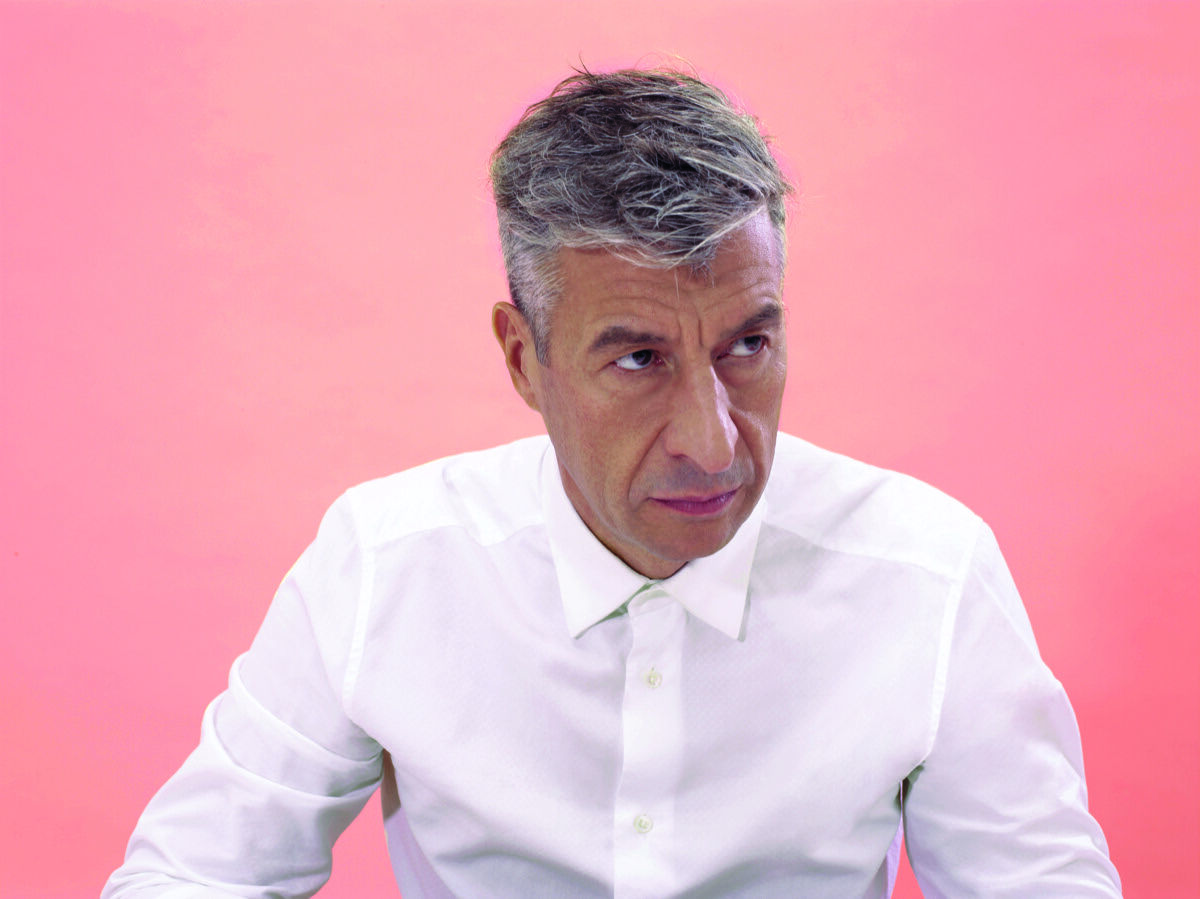 Portrait of Maurizio Cattelan by Pierpaolo Ferrari. Courtesy of the Maurizio Cattelan Archive.