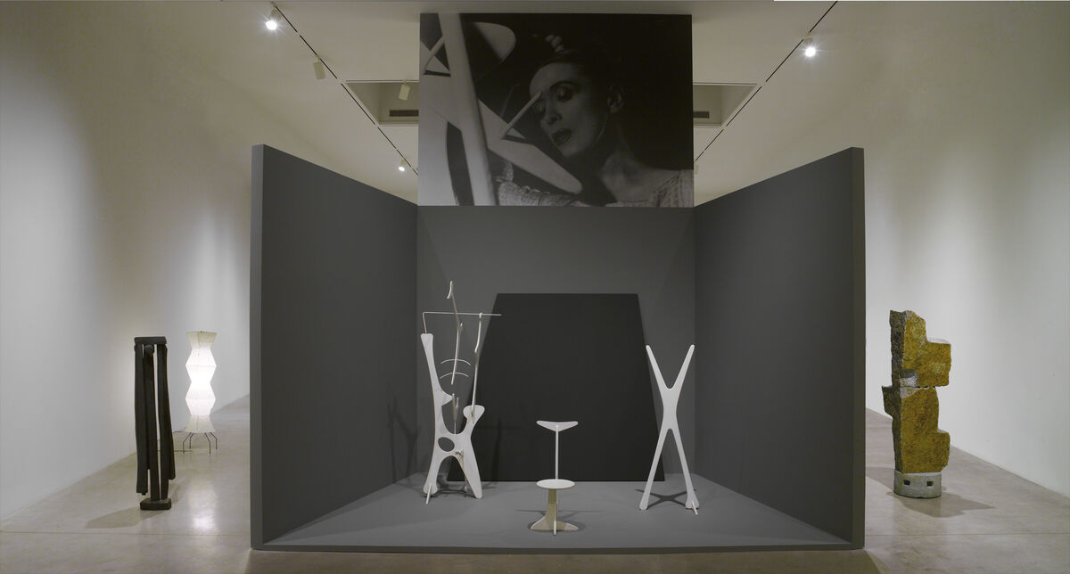 """Installation view of""""Isamu Noguchi: Variations"""" at Pace Gallery, New York. Courtesy of Pace Gallery."""
