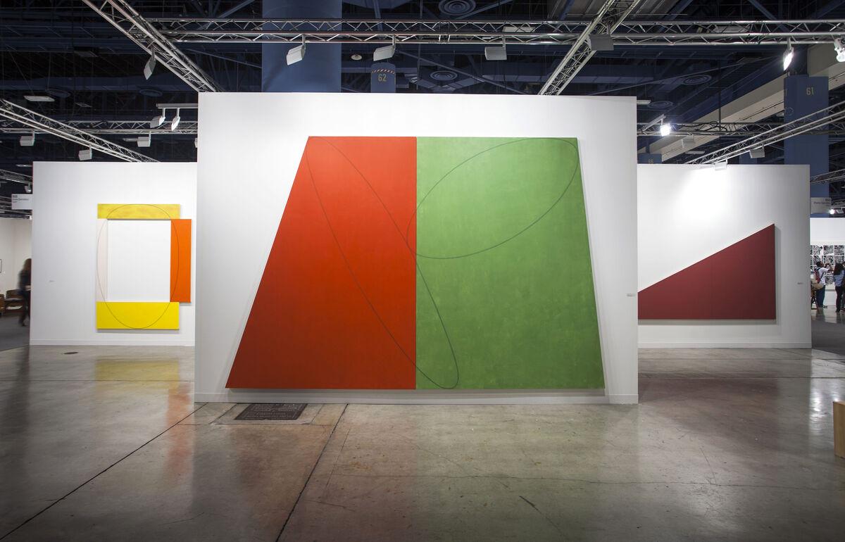 Installation view ofGalería Elvira González's booth at Art Basel in Miami Beach, 2015.Photo byOriol Tarridas for Artsy.