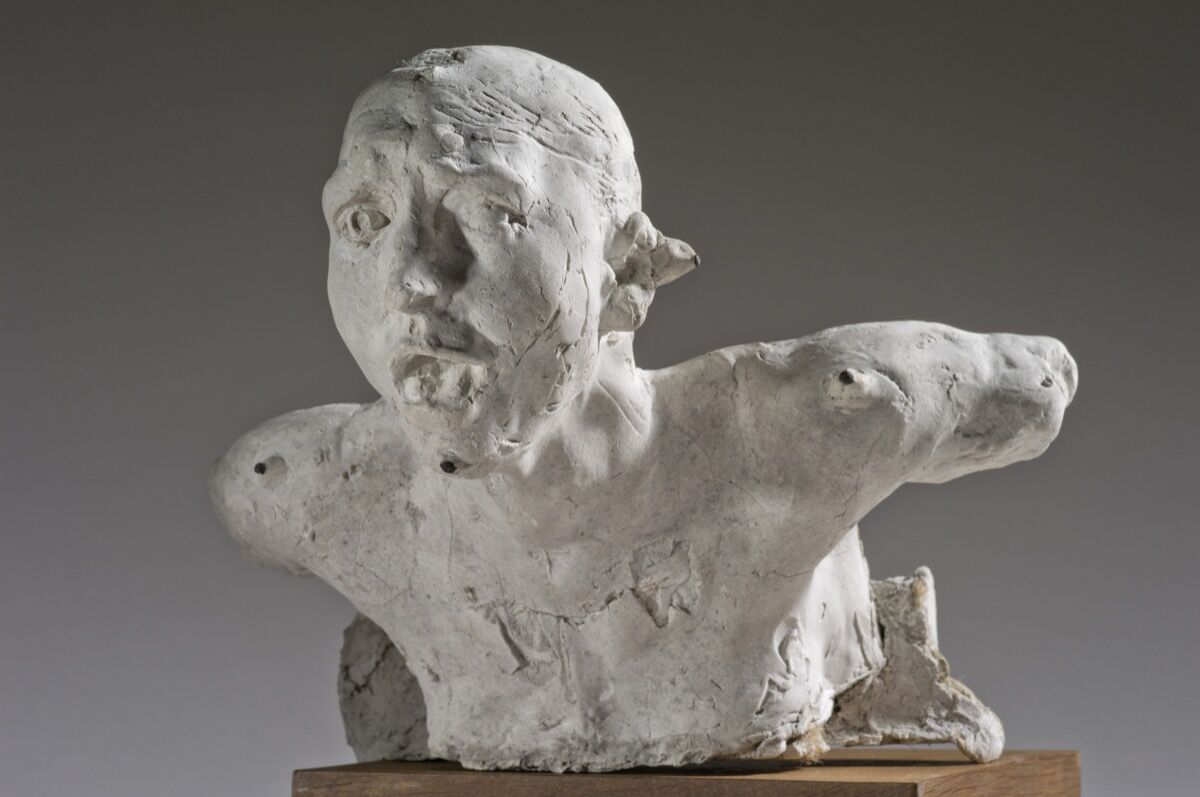 Auguste Rodin, The Cry, c. 1898. © Museée Rodin. Photo by Christian Baraja. Courtesy of the Barnes Foundation.