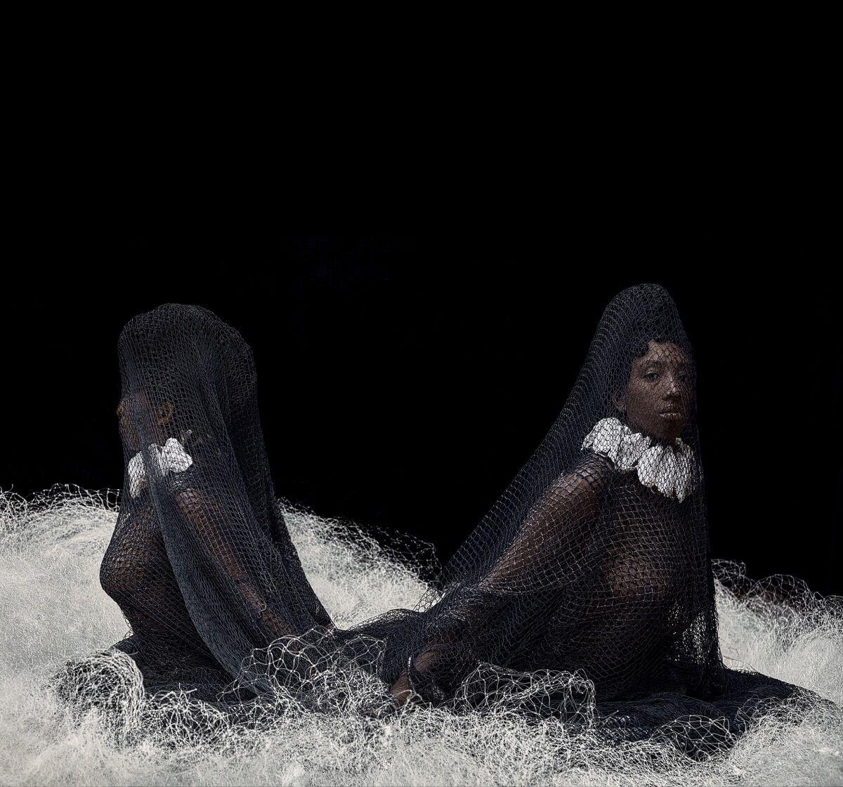 Ayana V. Jackson,  Serene II , 2019. Courtesy Mariane Ibrahim Gallery.