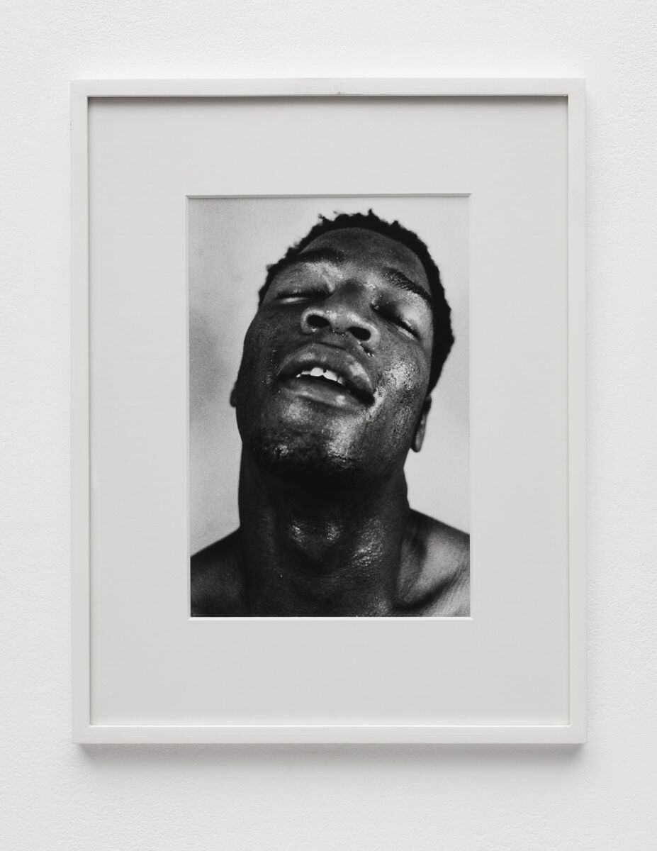 Aura Rosenberg, Head Shots (DL), 1991-1996. Courtesy of Martos Gallery.