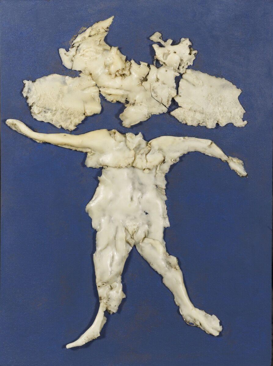 Alina Szapocznikow, Herbier Bleu I, 1971. Courtesy of The Estate of Alina Szapocznikow / Piotr Stanislawski / Galerie Loevenbruck, Paris.