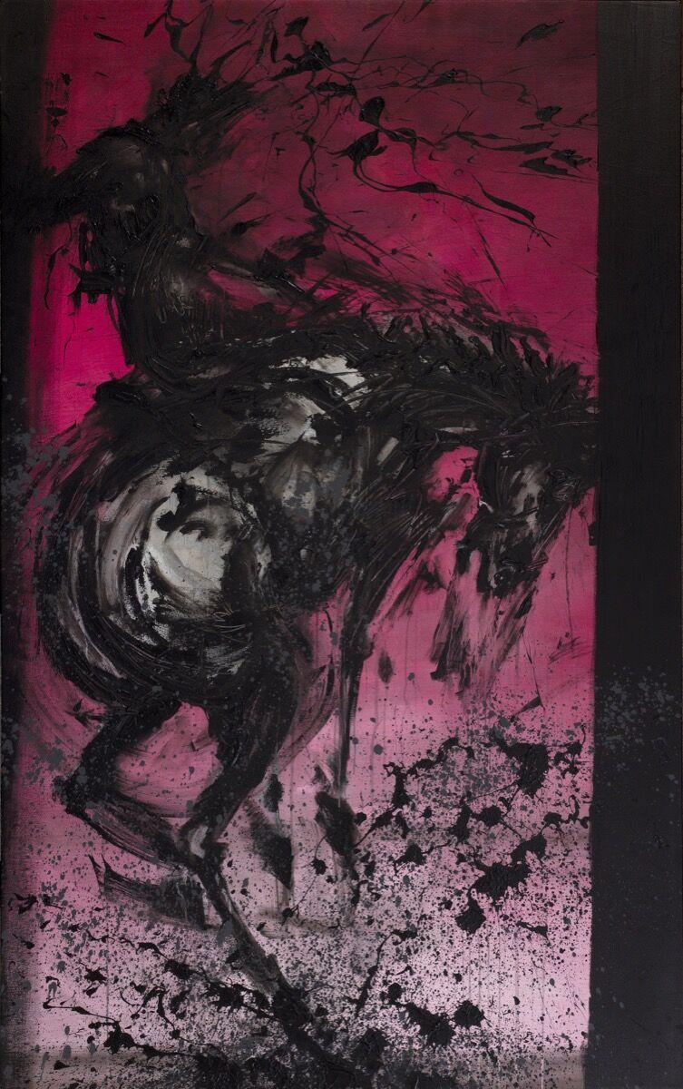 Richard Hambleton, Bucking Horse and Rider. © AVA Holdings Limited.