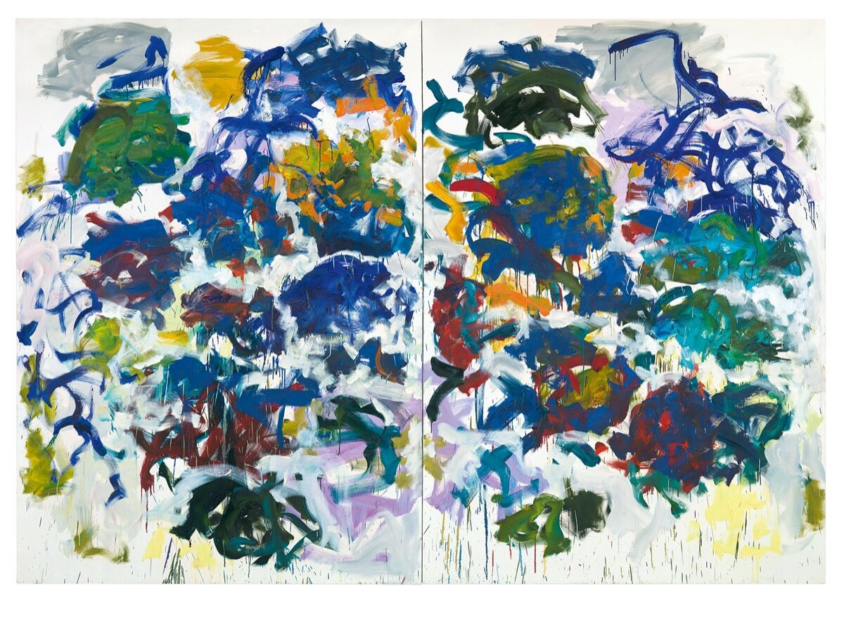 Joan Mitchell, Sunflowers, 1990-91. © Estate of Joan Mitchell. Courtesy of Baltimore Museum of Art.
