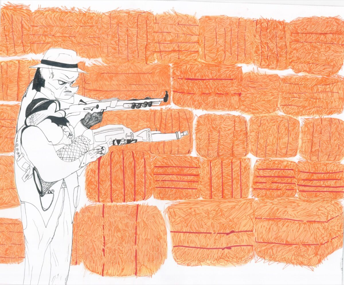 Alia Shawkat, Gangster. Courtesy of the artist.