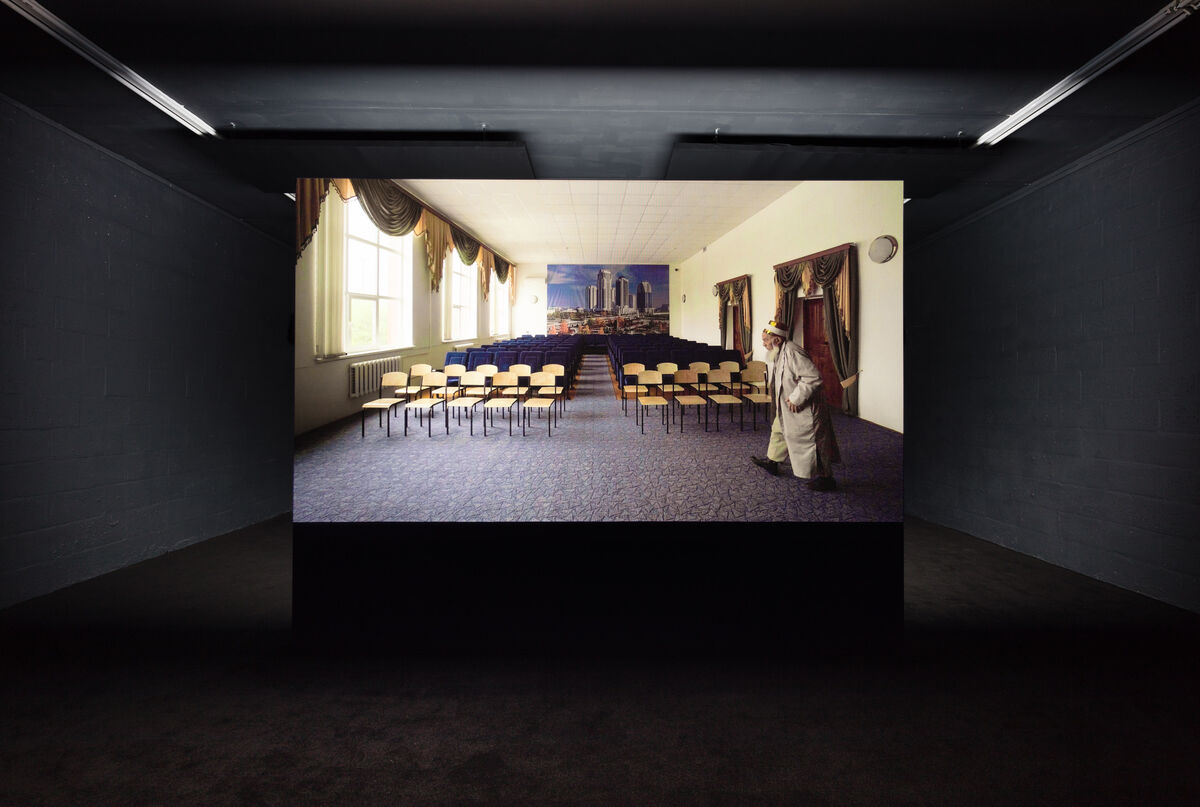 Installation View, Aslan Gaisumov, All That You See Here, Forget, 2018