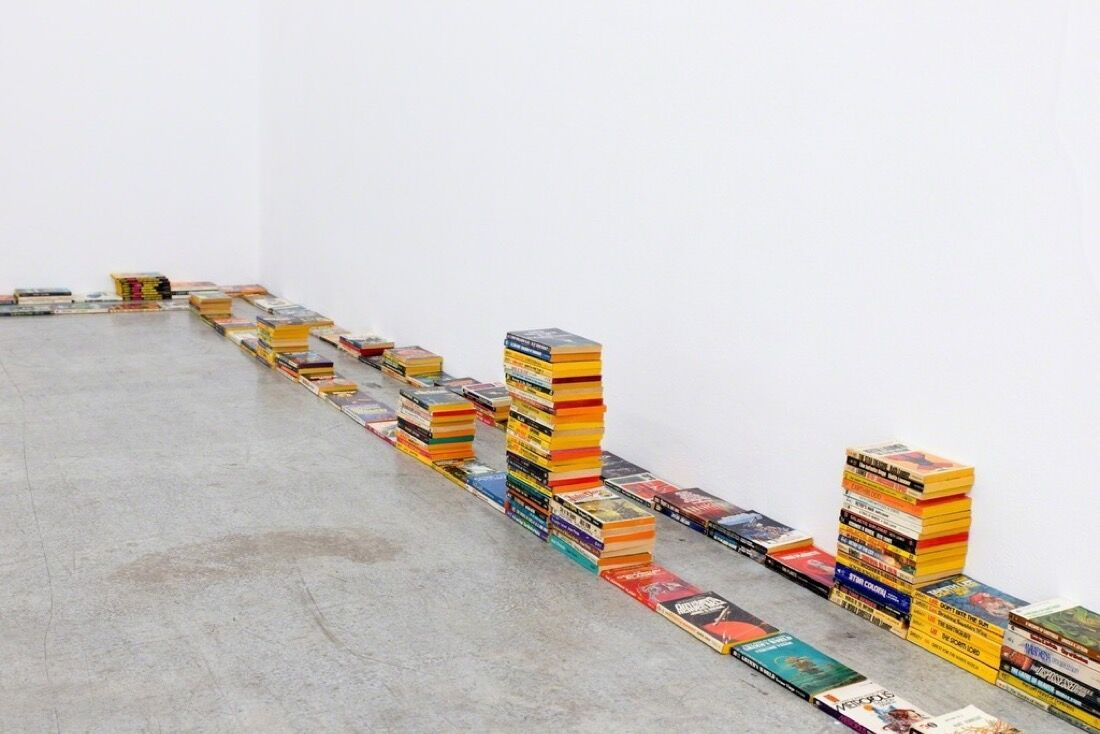 """Installation view of """"Cartoon Physics,"""" courtesy of Kerstin Engholm Galerie"""