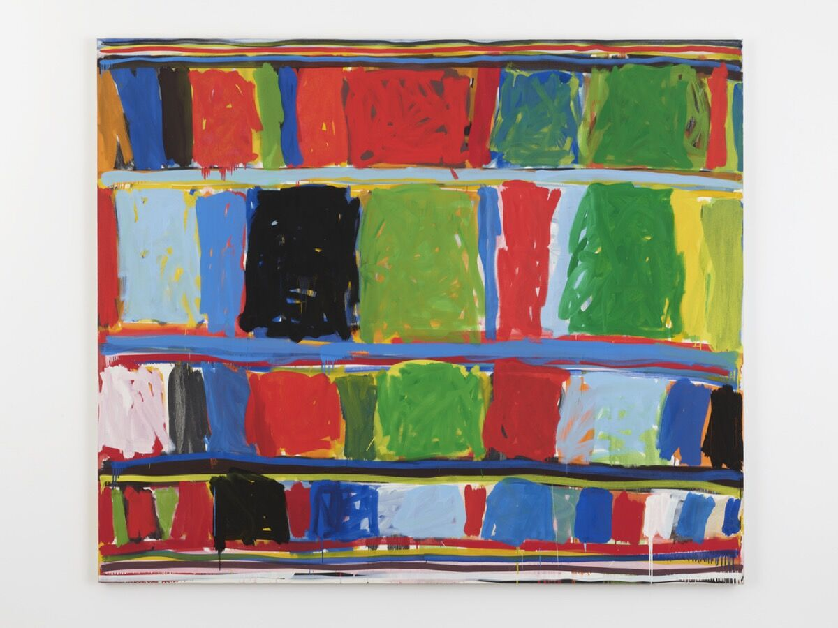 Stanley Whitney, Untitled, 1997. © Stanley Whitney. Courtesy of Lisson Gallery.