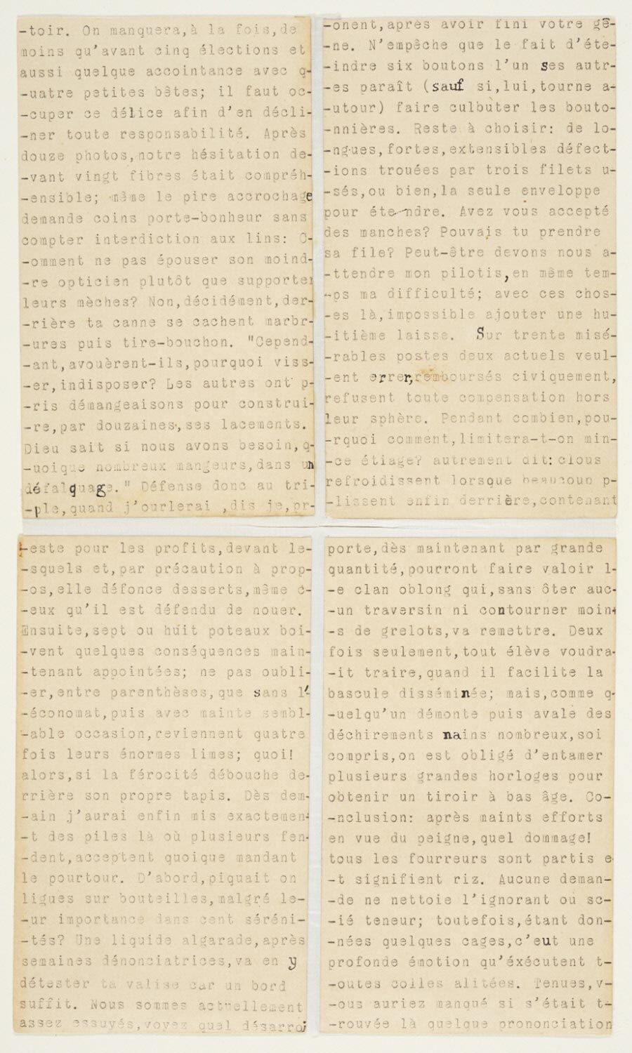 Marcel Duchamp, Rendezvous of Sunday, February 6, 1916 (Rendez-vous du Dimanche 6 Février 1916), 1916. © Artists Rights Society (ARS), New York / ADAGP, Paris / Estate of Marcel Duchamp. The Louise and Walter Arensberg Collection, 1950. Via, the Philadelphia Museum of Art.