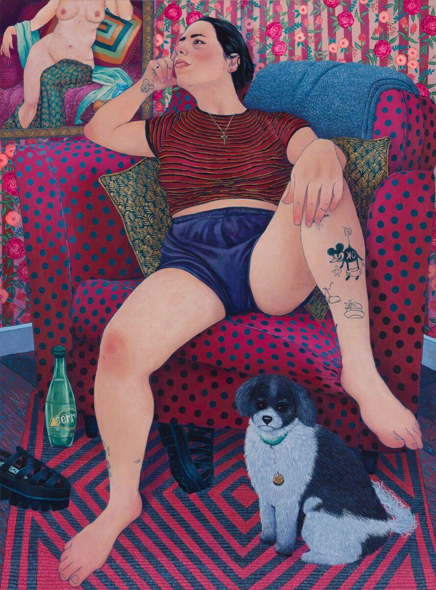 Shona McAndrew, Alina , 2019. Courtesy of the artist and CHART.