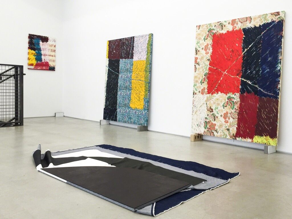 """Installation view of """"Nathan Dilworth"""" at LAUNCH F18, New York. Courtesy of LAUNCH F18."""