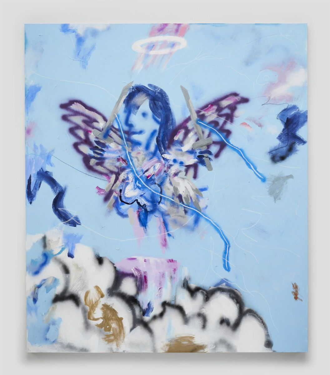 Robert Nava, Cloud Rider Angel, 2020. © Robert Nava. Courtesy of the artist and Vito Schnabel Gallery.