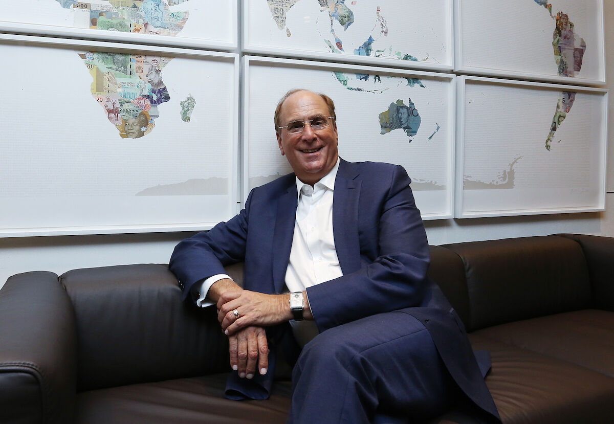 Larry Fink, BlackRock CEO and Chairman, is a member of the board of trustees of the Museum of Modern Art. Photo by Jonathan Wong/South China Morning Post via Getty Images.