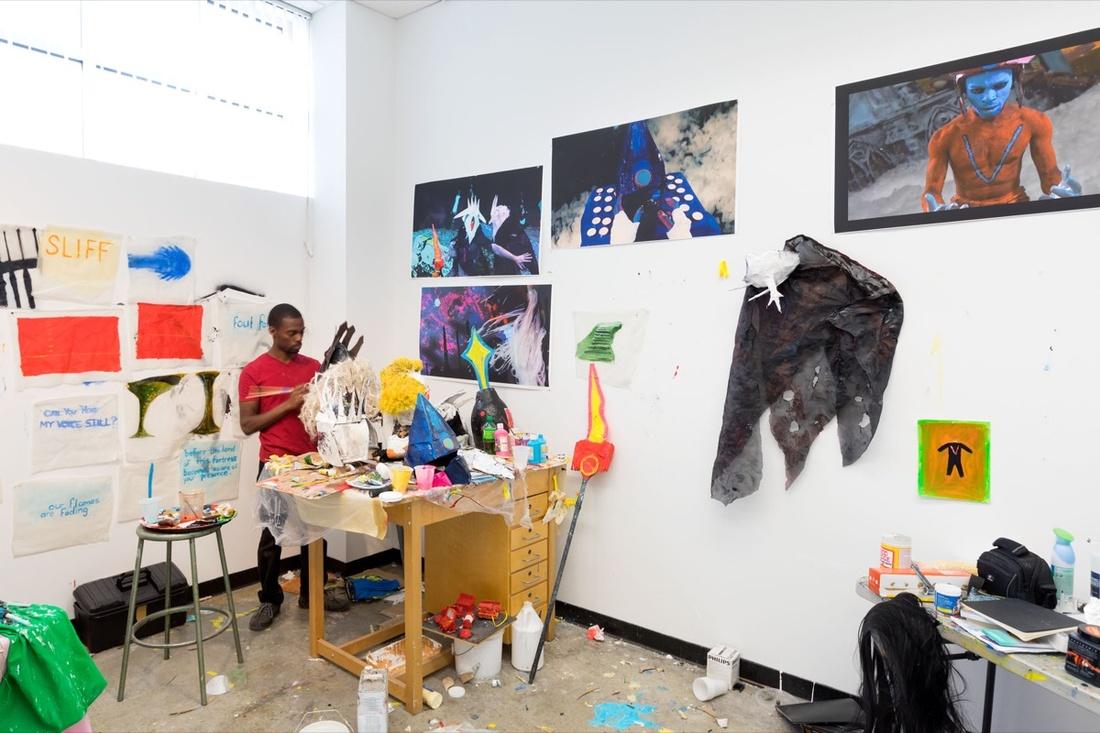MFA Studio Photo By Emile Askey 2017 Courtesy Of Mason Gross School The