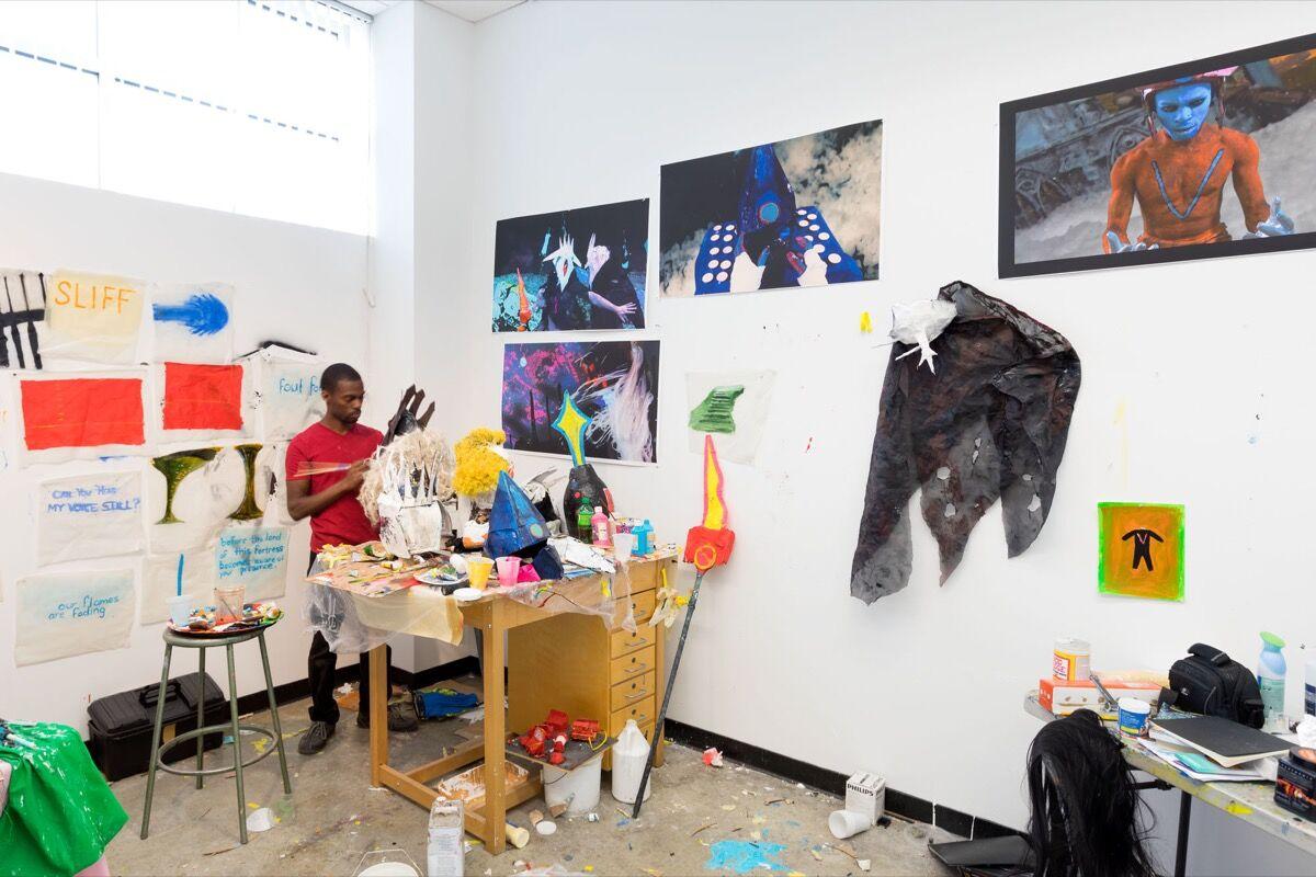 MFA Studio Photo by Emile Askey, 2017. Courtesy of Mason Gross School of the Arts.