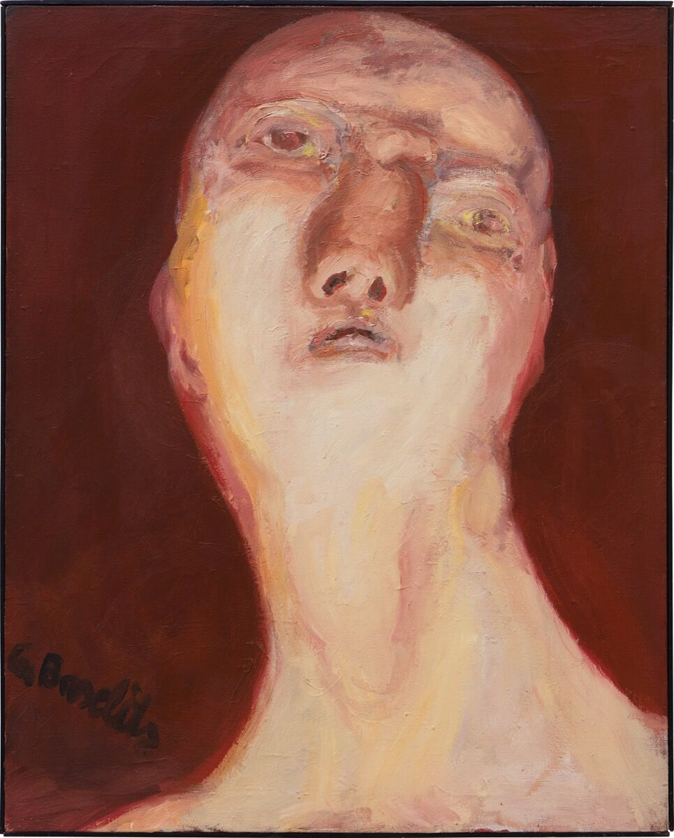 Georg Baselitz, P.D. Idol, 1964. Courtesy of Phillips / Phillips.com.