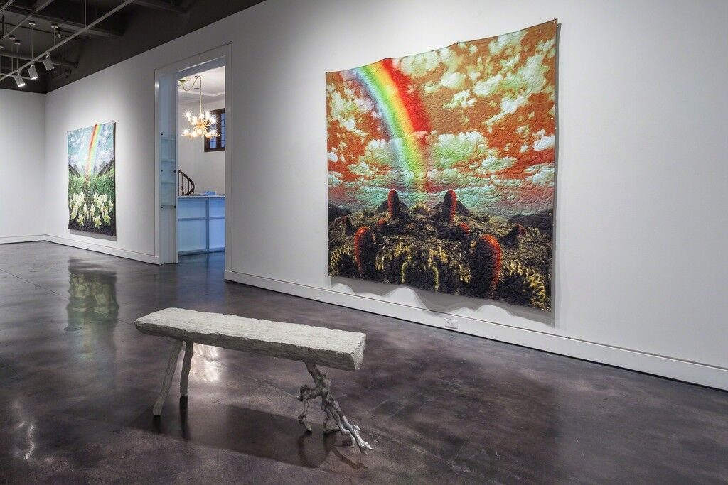 """Installation view of""""Virgil Marti: Forest Park"""" at Locks Gallery, Philadelphia. Courtesy Locks Gallery and the artist."""