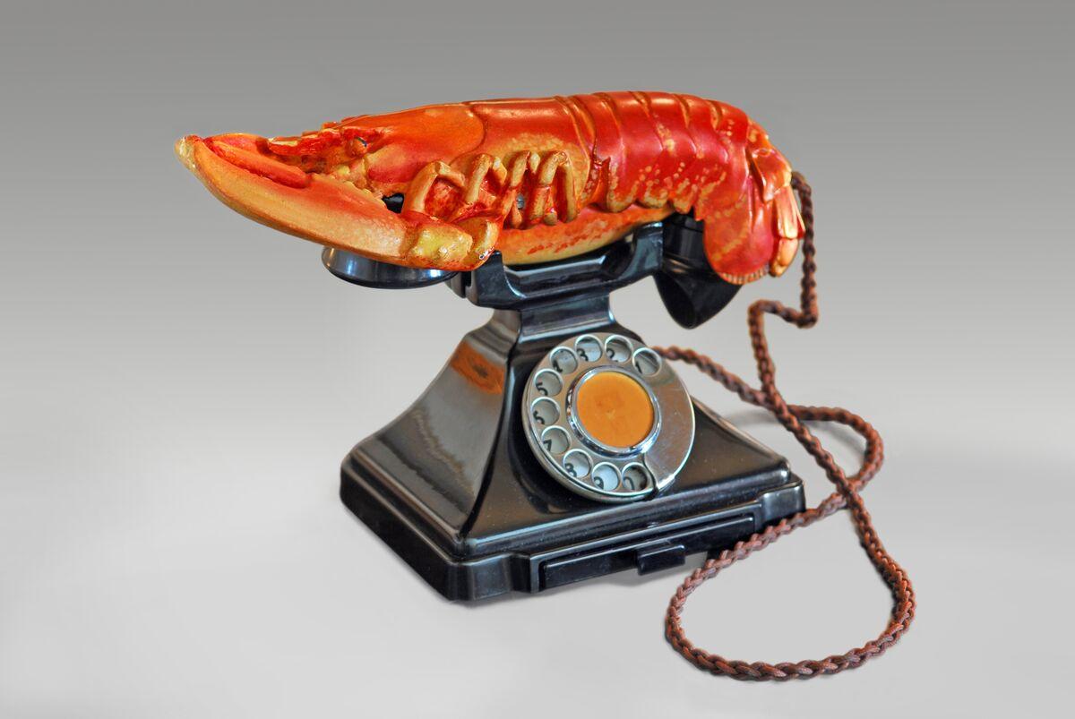 Salvador Dalí and Edward James, Lobster Telephone, 1938. Edward James Foundation West Dean / © 2018 Salvador Dalí, Fundació Gala-Salvador Dalí, Artists Rights Society.