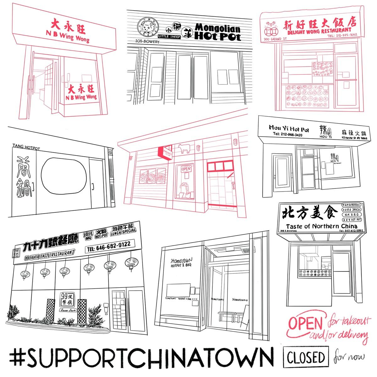 """Felicia Liang, April 14, 2020 from """"#SupportChinatown,"""" 2020. Courtesy of the artist."""