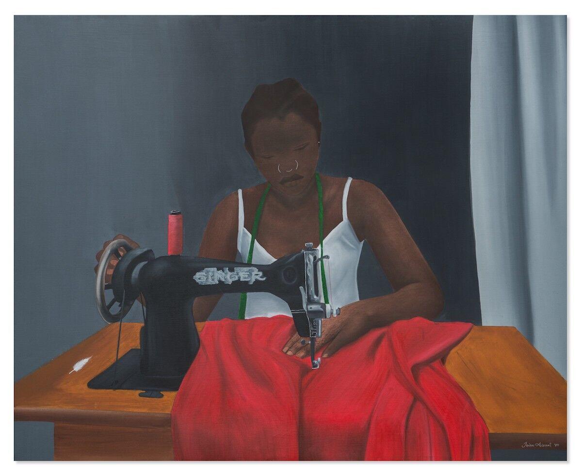 Juwon Aderemi, Singer, 2020. Courtesy the artist and Destinee Ross-Sutton, 2020.