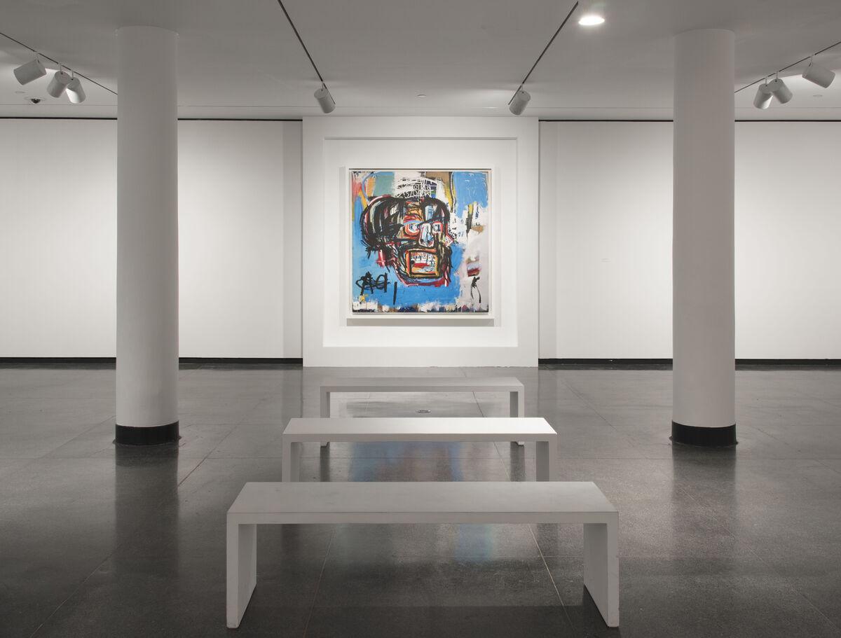 "Installation shot of ""One Basquiat."" Photo by Jonathan Dorado."